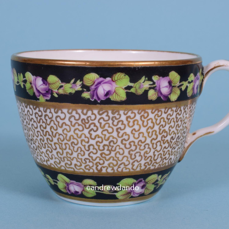 Grainger's Worcester Porcelain Tea Cup & Saucer.