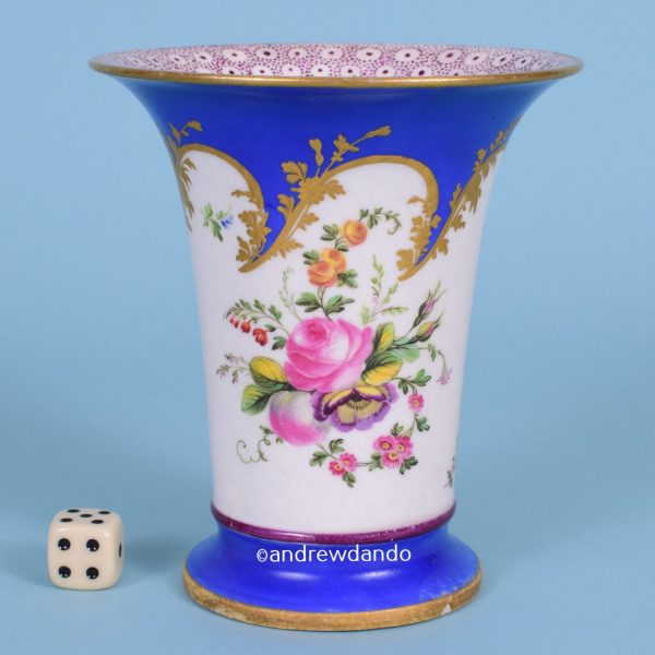 English Porcelain Spill Vase