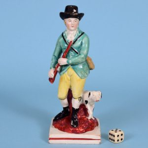 Staffordshire Figure of a Sportsman.