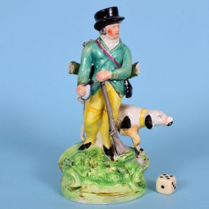 Staffordshire Figure of a Sportsman (af)