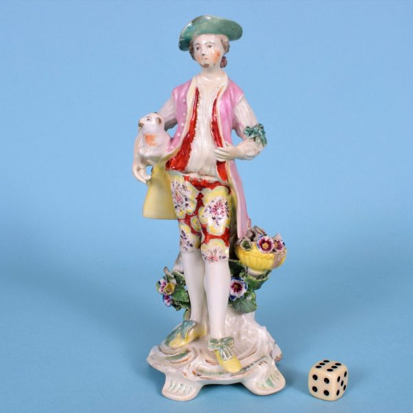 Derby Figure of a Shepherd (af)