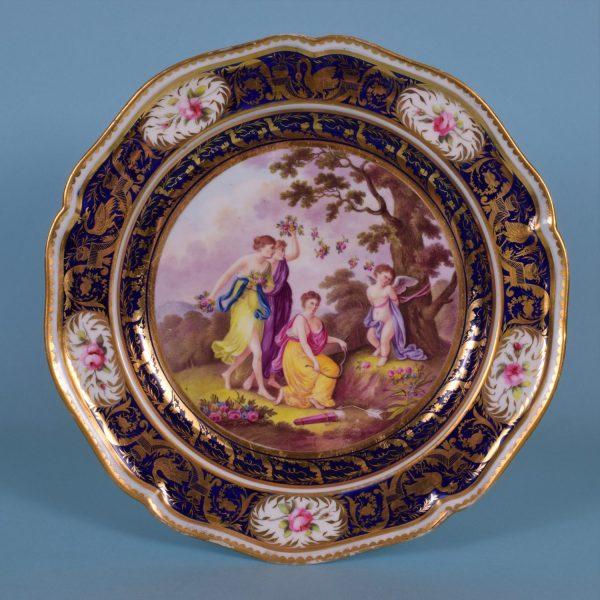 Derby Porcelain Plate.