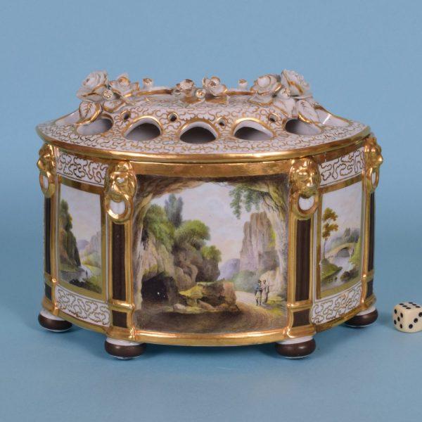 Chamberlains Worcester Bough Pot (af)
