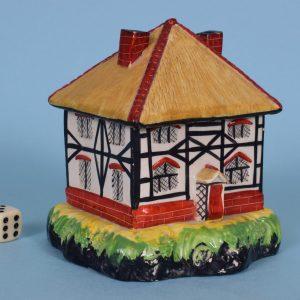 Staffordshire Pottery Pastille Burner.