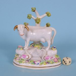 Staffordshire Porcelain Swan.