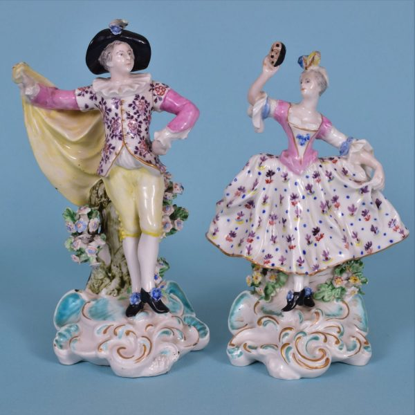 Pair of Derby Dancers.