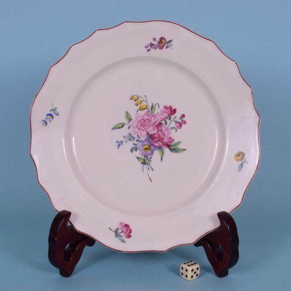 Mennecy Porcelain Plate (2)