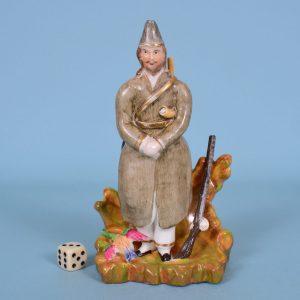 Staffordshire Figure of Robinson Crusoe.
