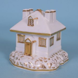 Worcester Porcelain Cottage.