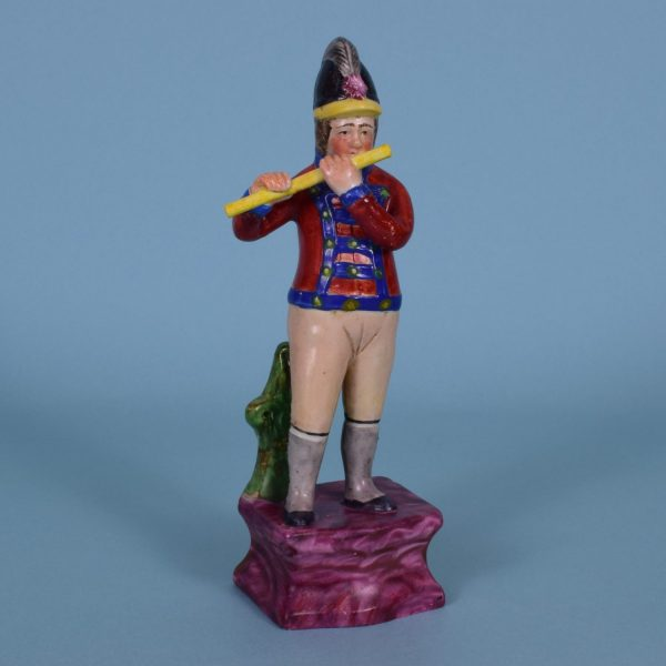 Staffordshire Figure of a Hessian Soldier
