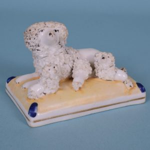 Staffordshire Poodle & puppies.
