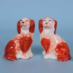 Pr Staffordshire Miniature Dogs.