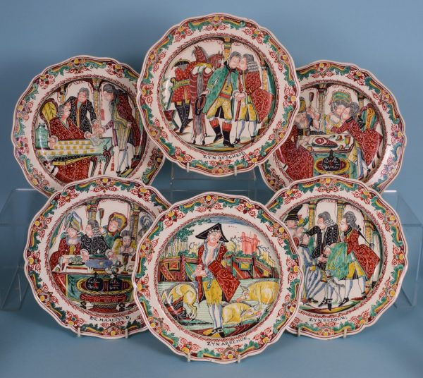 Set Of 6 Prodigal Son Plates