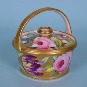 Coalport Pot Pourie Basket.
