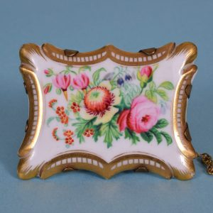English Porcelain Brooch.