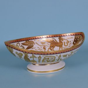 Coalport Egyptian Revival Comport