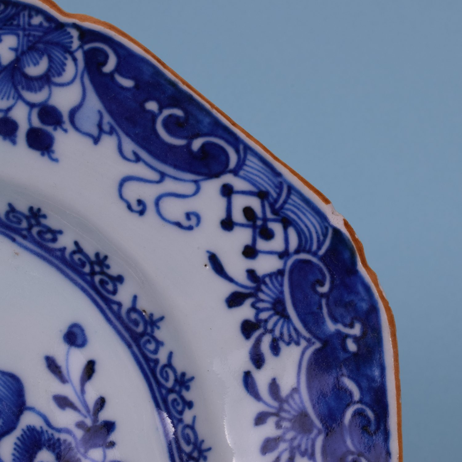 Chinese Export 'Nanking' Small Platter, c1760