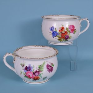 Pair of Chamber Pots.