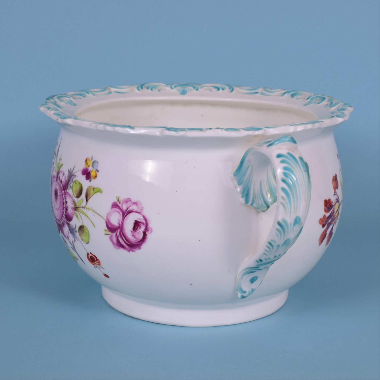 Coalport Porcelain Chamber Pot, c1840
