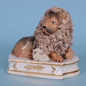 Staffordshire Lion & Lamb