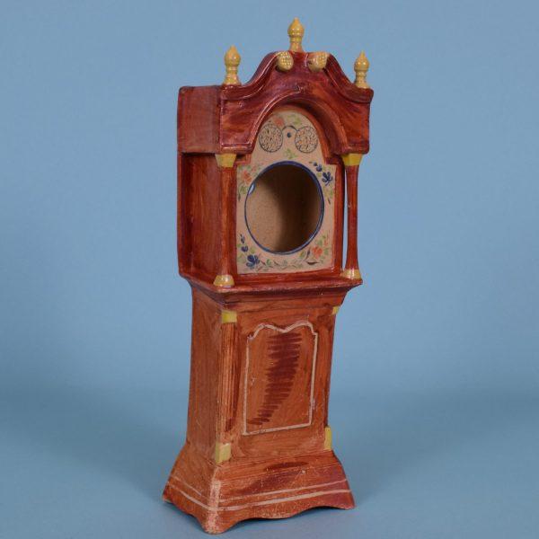 Staffordshire Pottery Clock Holder