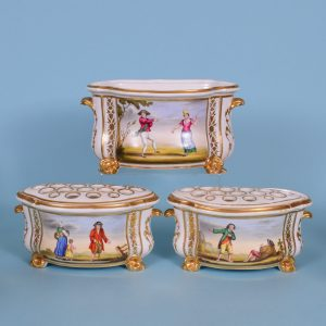 Set of 3 Bloor Derby Bough Pots