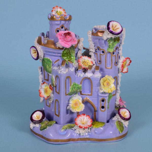 Lavender Coloured Two Piece Castle