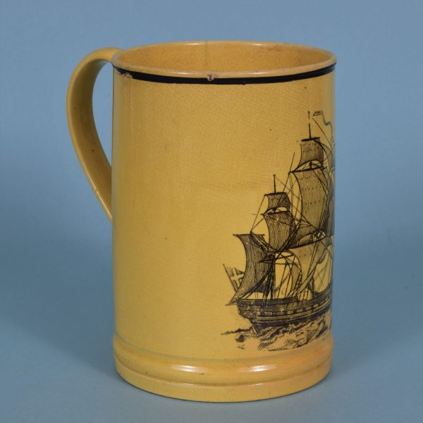 Staffordshire Canary Yellow Mug