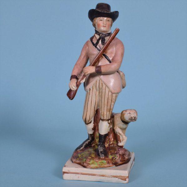Staffordshire Figure of a Sportsman