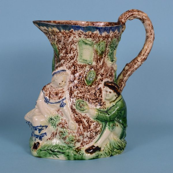 Staffordshire Fair Hebe Jug