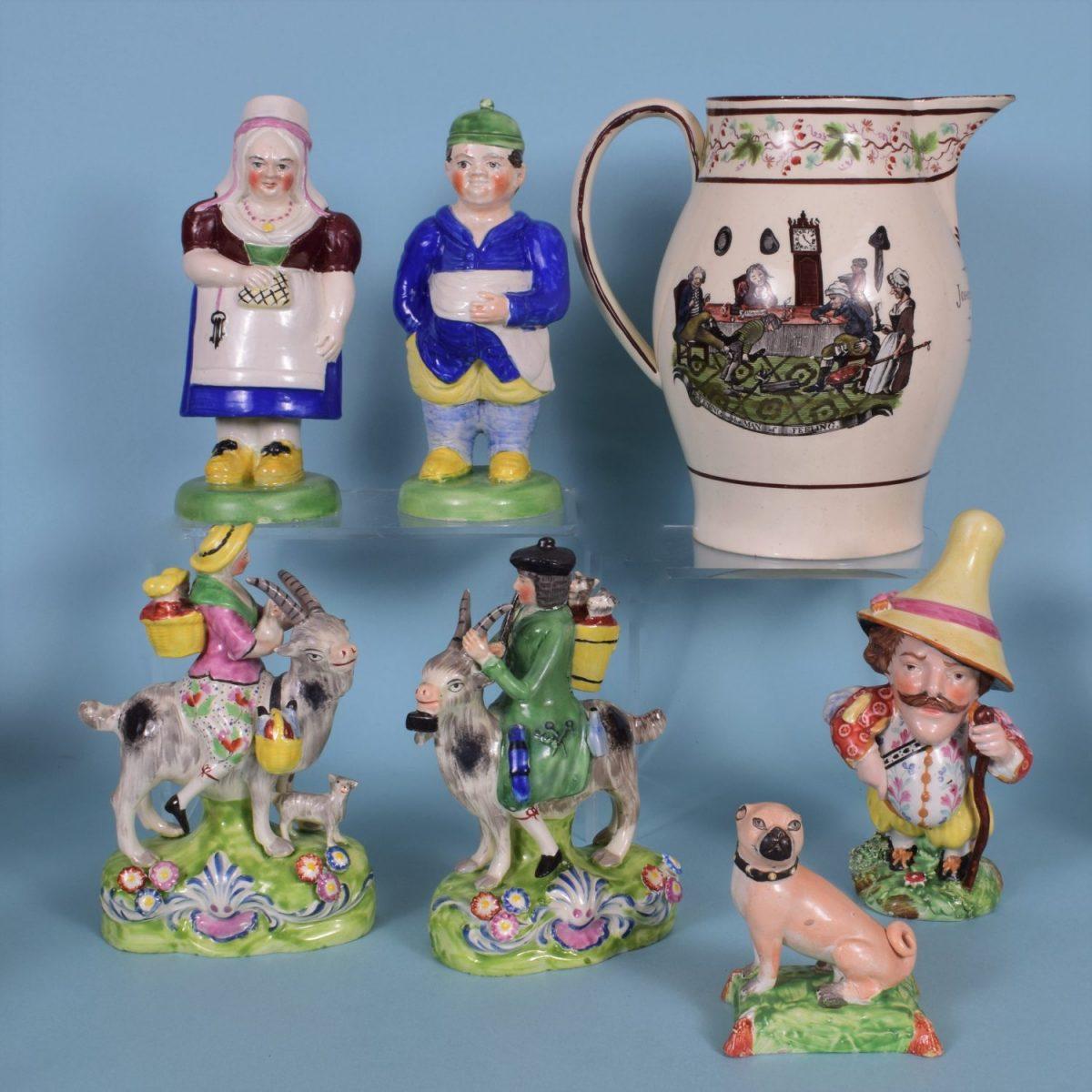 3. English Pottery
