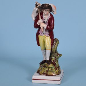 Staffordshire Figure of The Lost Sheep.