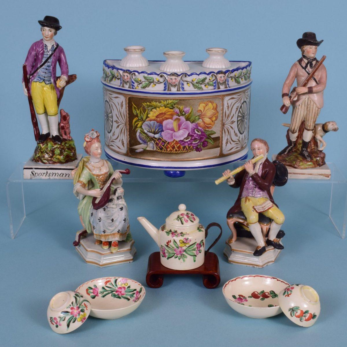 1. English Pottery
