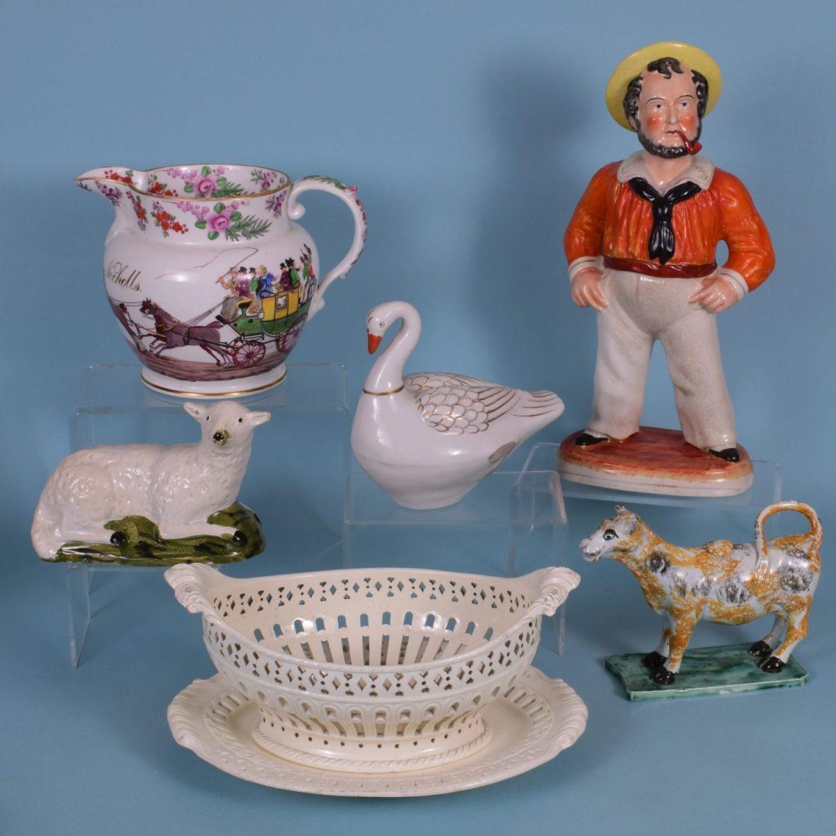 11. English Pottery