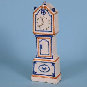 Prattware Longcase Clock.