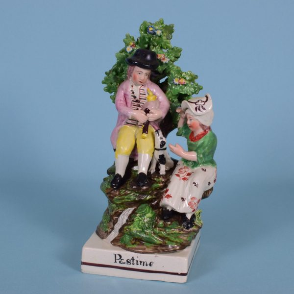 Staffordshire Pastimes Figure