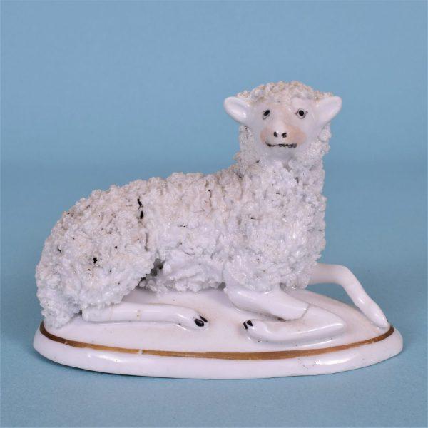 Staffordshire Recumbent Ewe