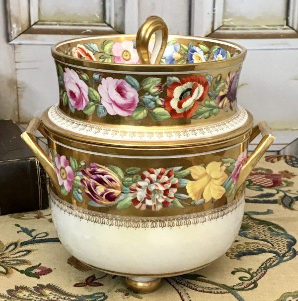 English Porcelain ice pail
