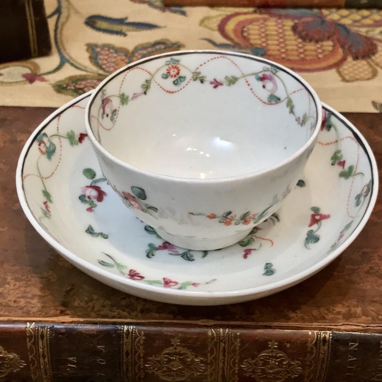 New Hall Tea Bowl & Saucer