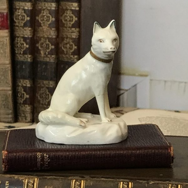 Derby Porcelain Fox