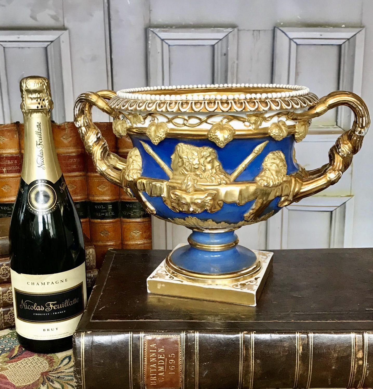 English Porcelain Warwick Vase.