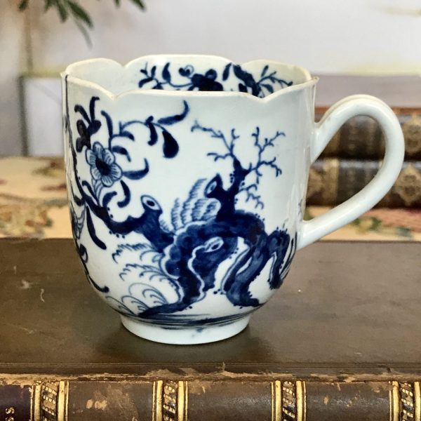 Worcester Porcelain Coffee Cup