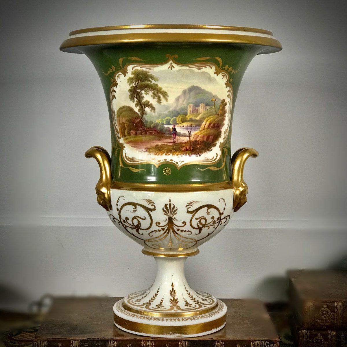 English Porcelain Vase.