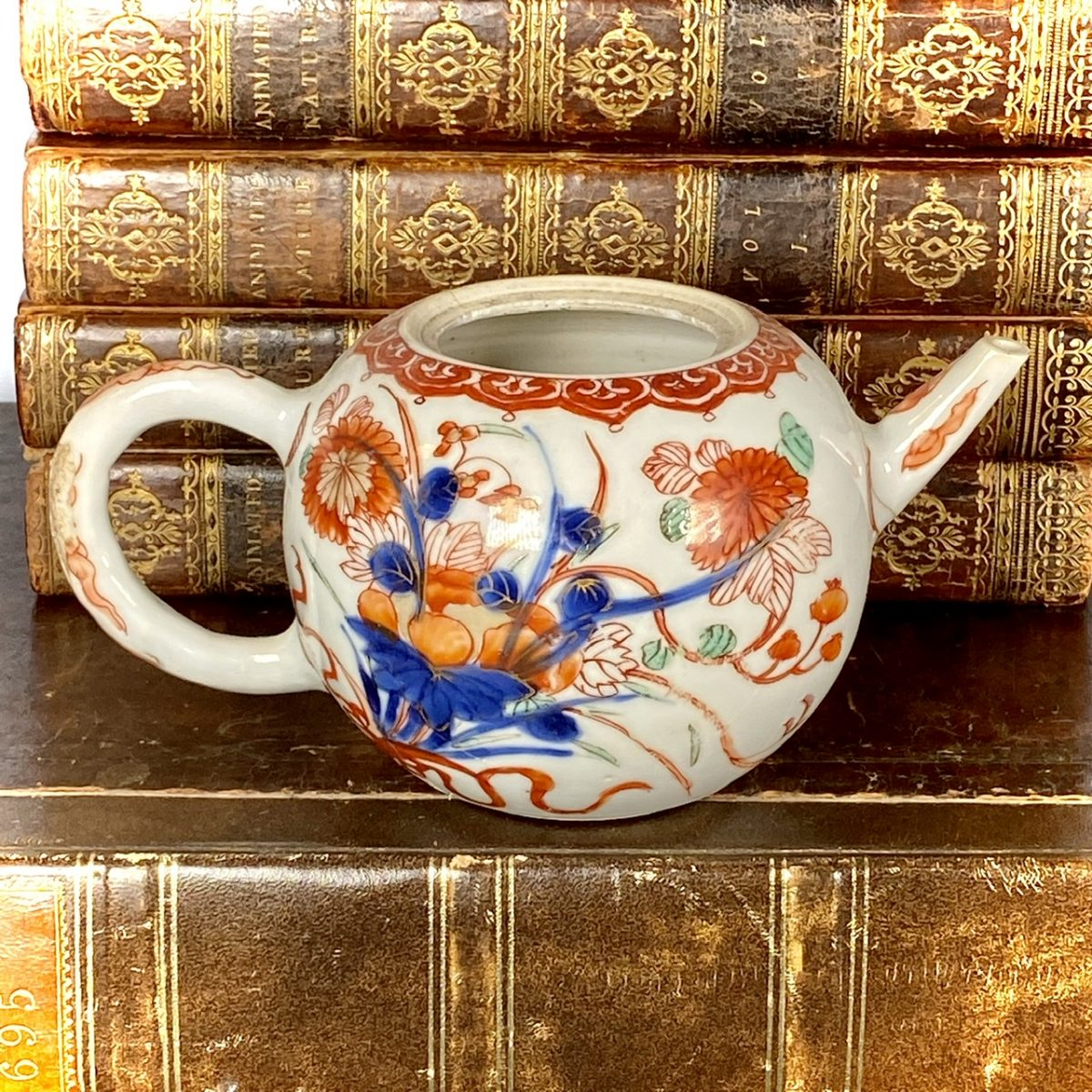 C18th Chinese Export 'Imari' Teapot (af)