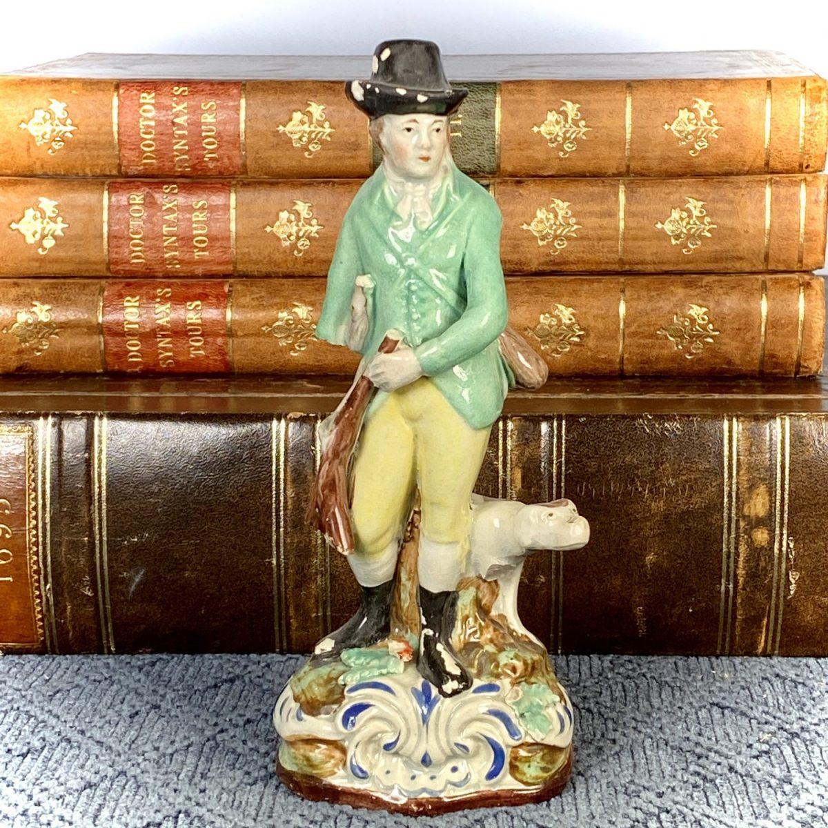 Staffordshire Figure of a Sportsman (af)