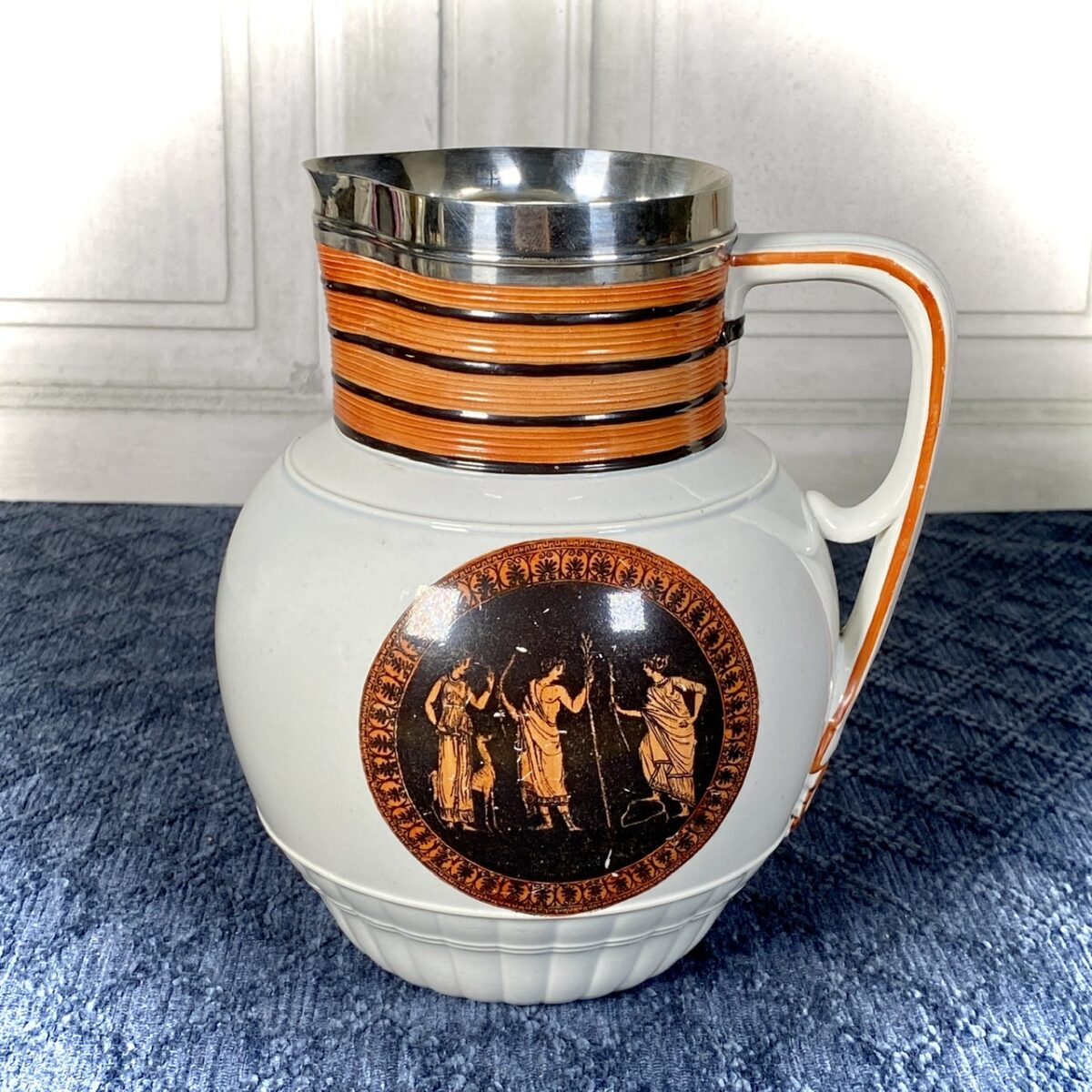 C18th Pearlware Jug by Neale & Co.