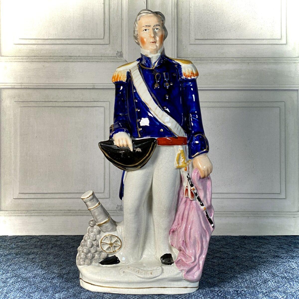Staffordshire Figure of Admiral Napier