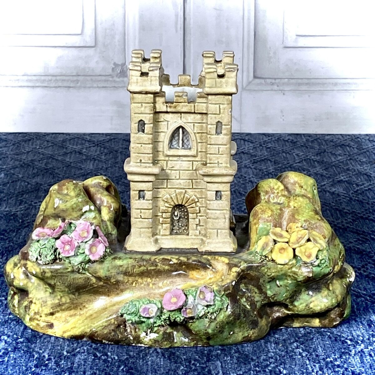 Early C19th Staffordshire Castle Ornament.